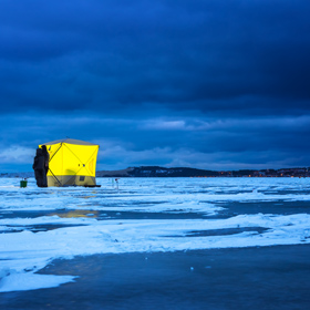 3 Reasons to Try Ice Fishing at Night