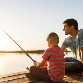 How to Teach a Child to Cast a Fishing Rod