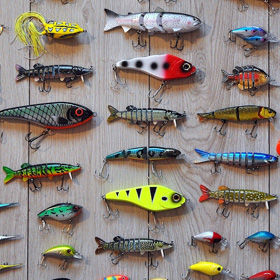 fishing tackle things to do at home